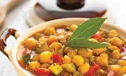 Platos de cocina vegetales