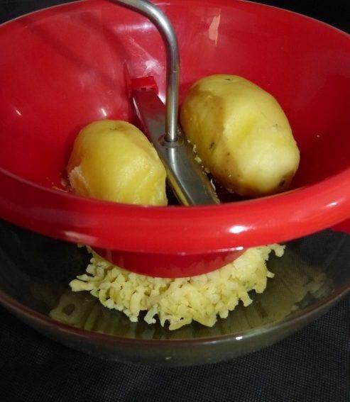 Conseguir un pur de patatas muy cremoso la cocina de berni - Pure de patatas cremoso ...