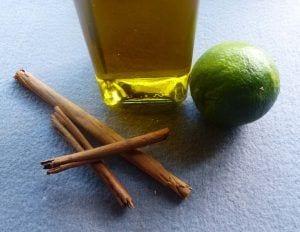 Aceite aromatizado con canela y lima - Macerados
