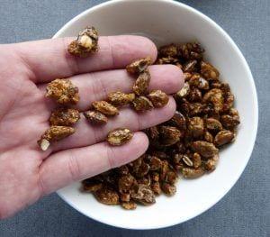 Pipas de calabaza garrapiñadas - La cocina de Berni