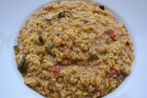 Trucos para hacer risotto - Risotto de verduras