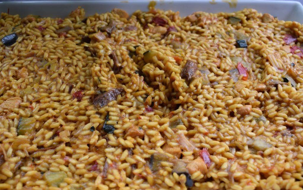 Trucos para hacer risotto de verduras extendido