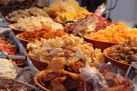 Propiedades saludables de los frutos secos - Frutas deshidratadas
