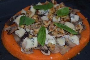 Pizza de calabaza - Foto definitiva pizza 1