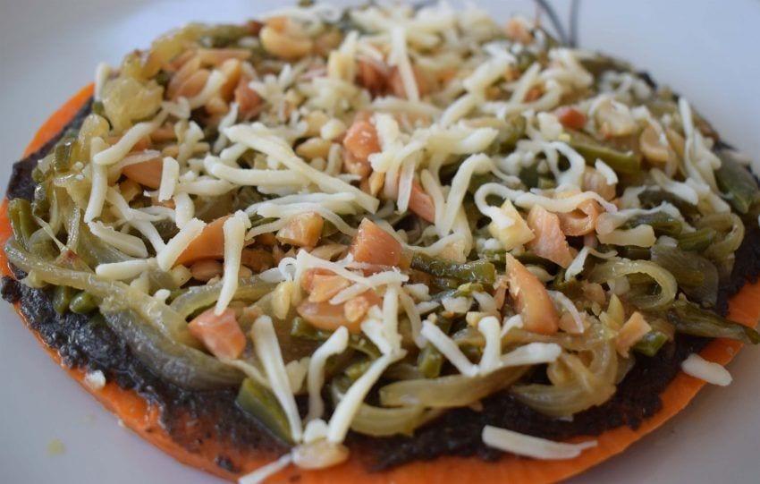 Pizza de calabaza - Foto final pizza 2