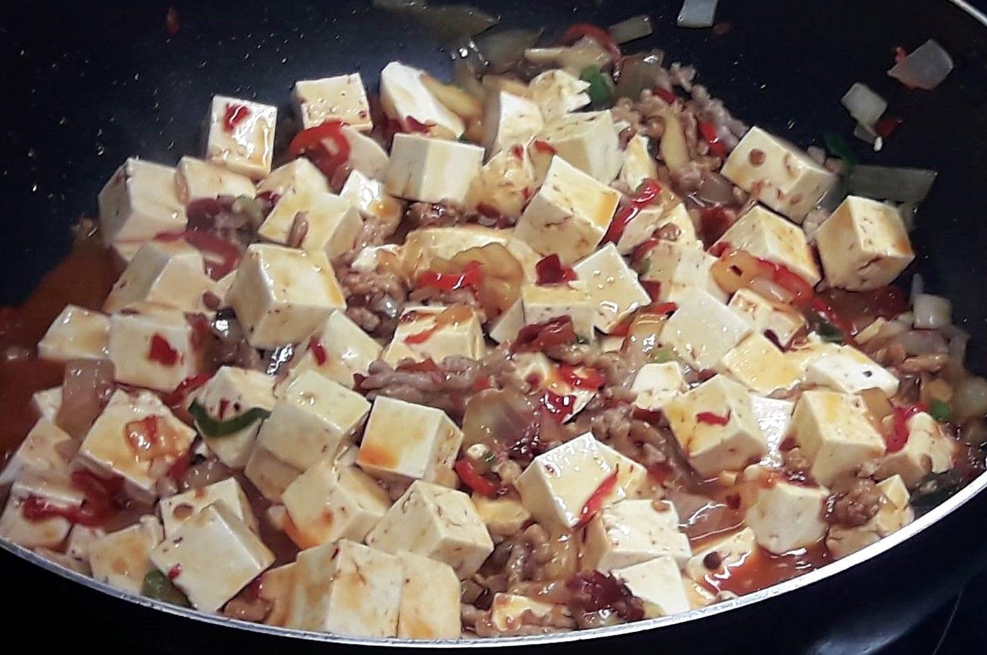 Tofu estilo Mapu