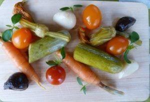 Encurtido de verduras