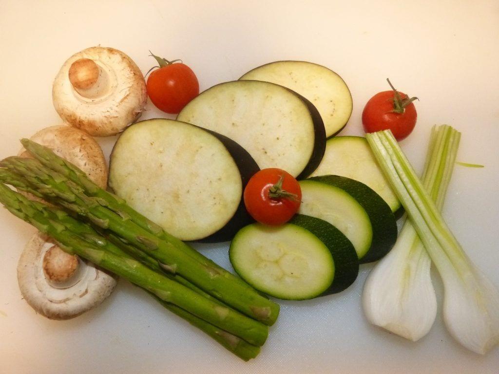 Como hacer una buena parrillada de verduras.