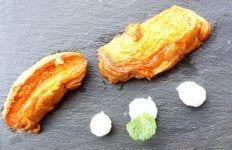torrijas de zanahoria y coco