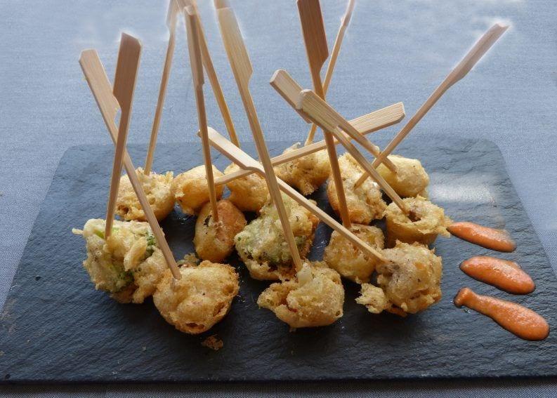 Tempura de verduras - La cocina de Berni - Madrid