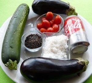 Calabacin y beenjena a la sal - Ingredientes para cocinar con verduras