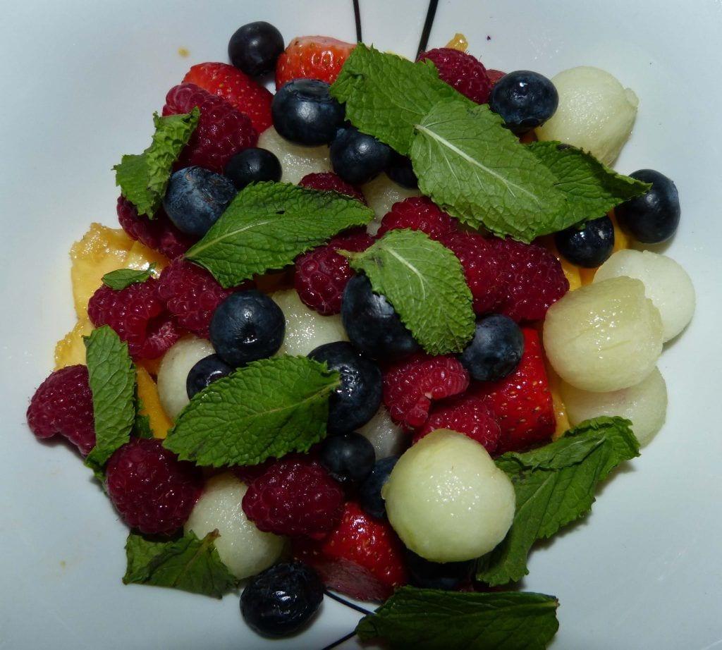 Frutas cortadas para ser maceradas- Recetas de verano
