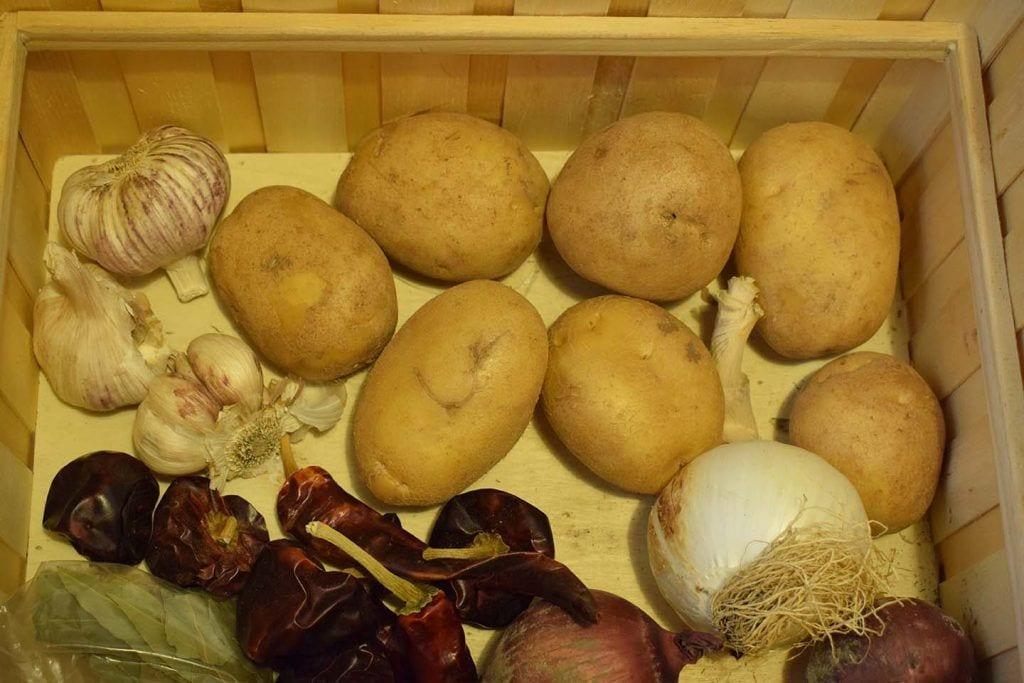 Conservar verduras - Conservar patatas y cebollas -