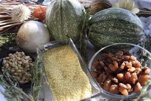 Calabacines rellenos de cuscús- Ingredientes