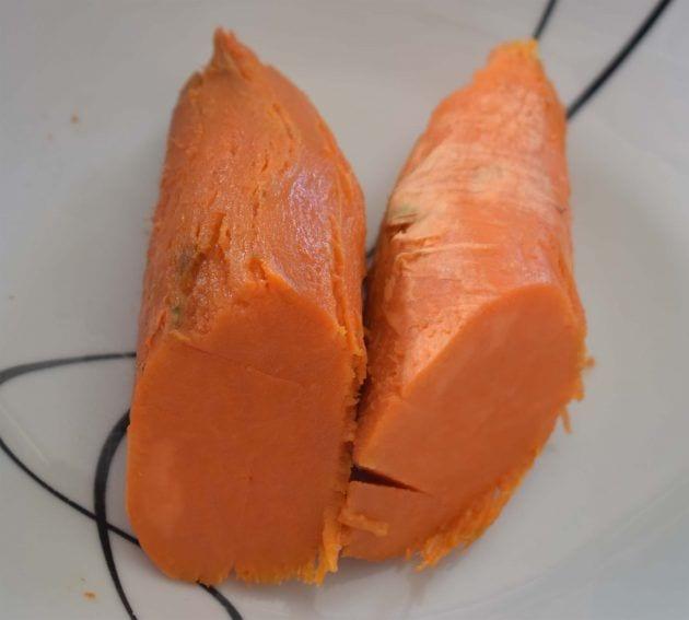 Ceviche de lombarda - batata asada
