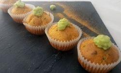 Mini cupcakes salados