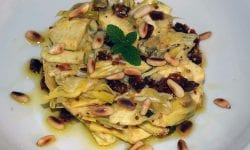 Alcachofas marinadas
