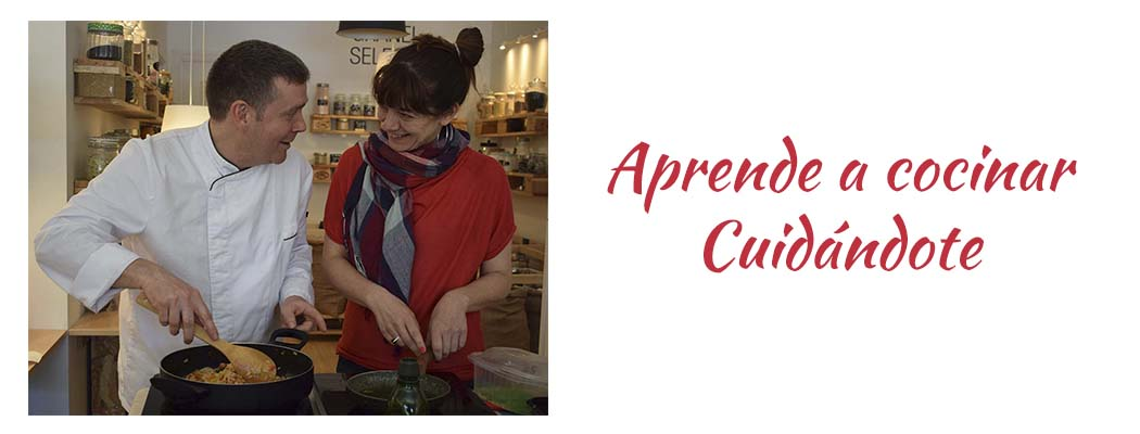 Aprende a cocinar cuidándote