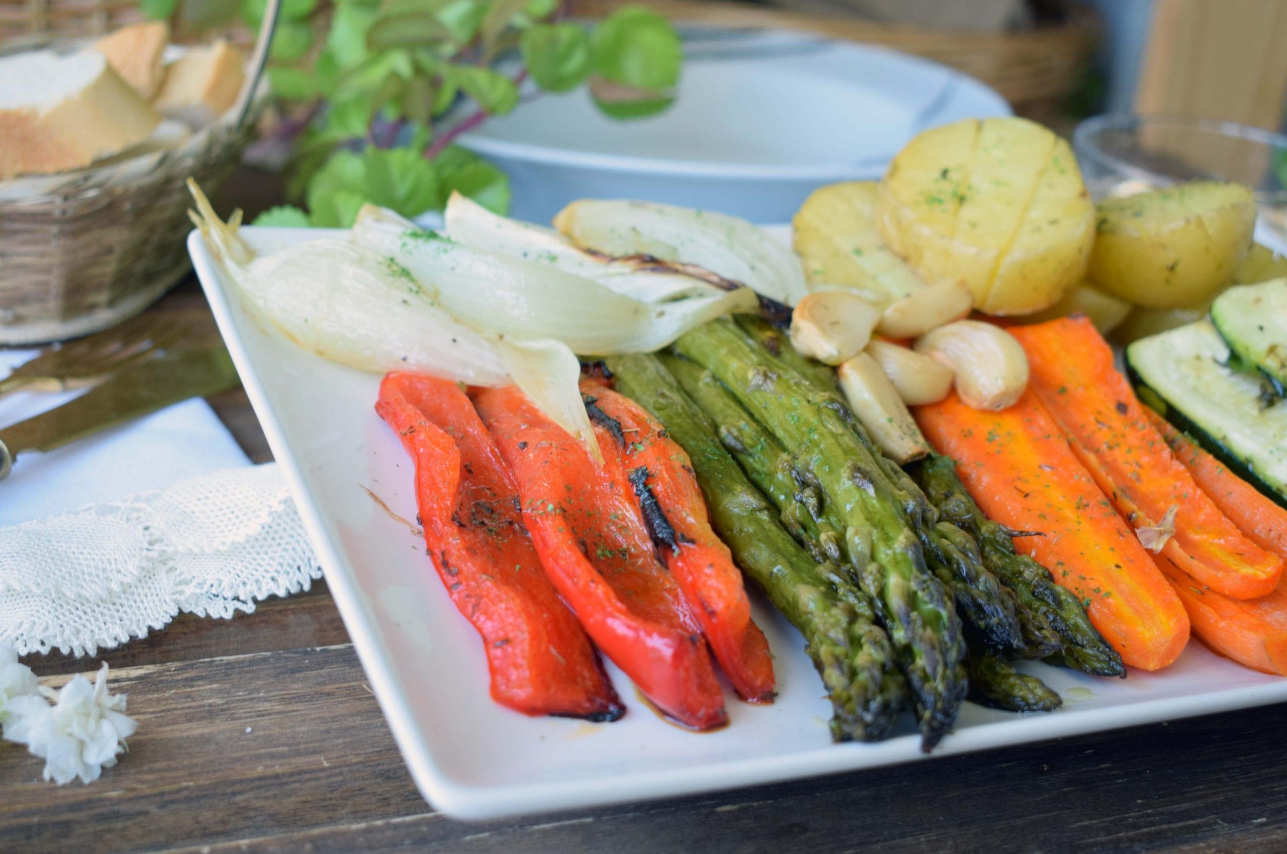 verdura asada