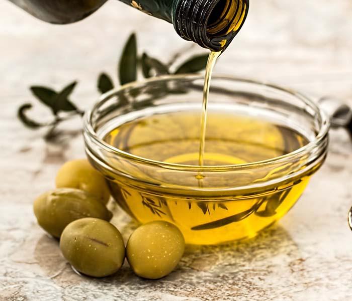 Vinagreta básica con aceite de oliva