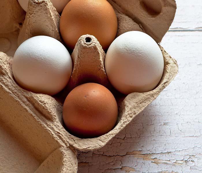 Vinagreta básica con huevo
