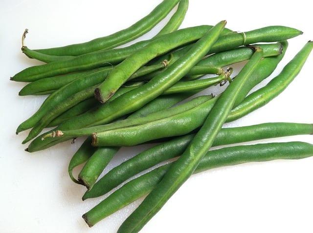 Judias verdes que comer en julio